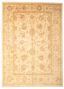 Oushak Rug 311X430 Authentic  Oriental Handknotted Dark Beige/Beige Large (Wool, Turkey)