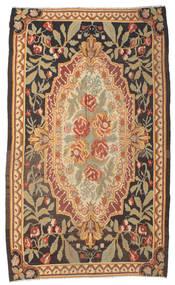 Rose Kelim Moldavia Rug 178X295 Authentic  Oriental Handwoven Brown/Dark Beige/Light Brown (Wool, Moldova)