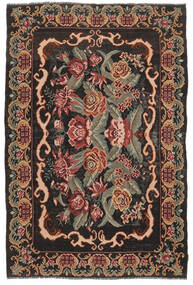 Rose Kelim Moldavia Rug 186X280 Authentic  Oriental Handwoven Dark Brown/Dark Red (Wool, Moldova)