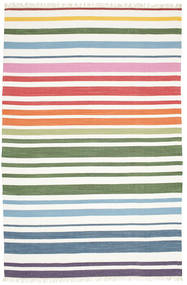 Rainbow Stripe - White Rug 250X300 Authentic  Modern Handwoven White/Creme Large (Cotton, India)