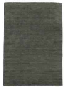 Handloom Fringes - Dark Grey Rug 300X400 Modern Dark Grey Large (Wool, India)