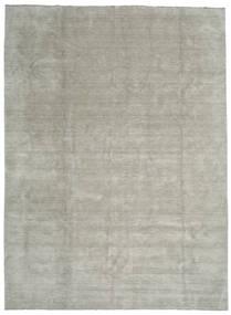 Handloom Fringes - Grey/Light Green Rug 300X400 Modern Light Grey Large (Wool, India)