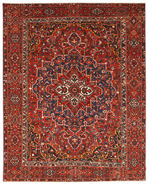 Bakhtiari Patina Rug 337X431 Authentic  Oriental Handknotted Dark Red/Rust Red Large (Wool, Persia/Iran)