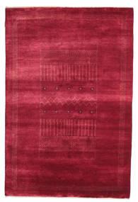 Gabbeh Loribaft Rug 146X222 Authentic  Modern Handknotted Crimson Red/Dark Red (Wool, India)
