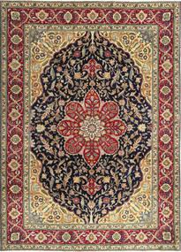Tabriz Patina Rug 250X348 Authentic  Oriental Handknotted Dark Red/Black Large (Wool, Persia/Iran)
