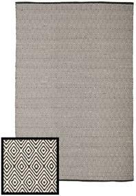 Diamond - Black/White Rug 250X300 Authentic  Modern Handwoven Light Grey/Dark Grey Large (Cotton, India)