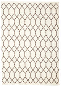 Renzo Rug 250X350 Authentic  Modern Handwoven Beige/Light Grey Large (Wool, India)