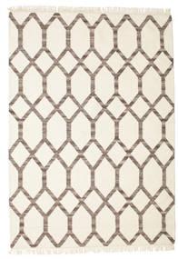 Renzo Rug 160X230 Authentic  Modern Handwoven Beige/Light Grey (Wool, India)