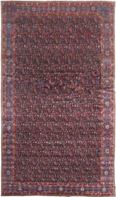 Senneh Rug 368X639 Authentic Oriental Handknotted Dark Brown/Purple Large (Wool, Persia/Iran)