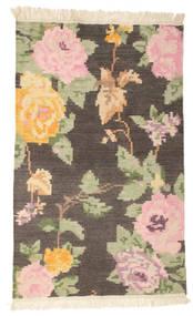 Kilim Karabakh Amira - Brown Rug 100X160 Authentic  Modern Handwoven Dark Brown/Dark Beige (Wool, India)