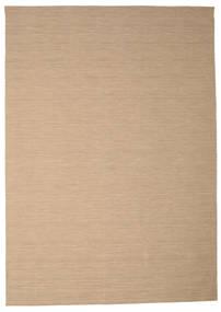 Kilim Loom - Beige Rug 250X350 Authentic  Modern Handwoven Light Brown/Light Grey Large (Wool, India)