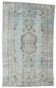 Colored Vintage Rug 176X294 Authentic  Modern Handknotted Light Grey/Dark Grey (Wool, Turkey)