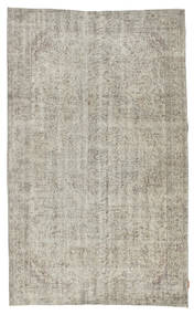 Colored Vintage Rug 163X267 Authentic  Modern Handknotted Light Grey (Wool, Turkey)