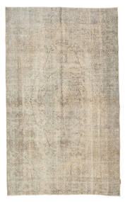 Colored Vintage Rug 160X270 Authentic  Modern Handknotted Light Grey (Wool, Turkey)