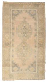 Colored Vintage Rug 120X218 Authentic  Modern Handknotted Beige/Dark Beige (Wool, Turkey)