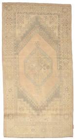 Colored Vintage Rug 118X225 Authentic  Modern Handknotted Beige/Dark Beige (Wool, Turkey)