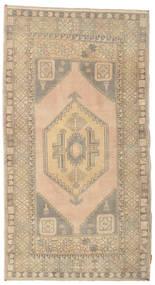 Colored Vintage Rug 108X198 Authentic  Modern Handknotted Light Grey/Beige/Dark Beige (Wool, Turkey)