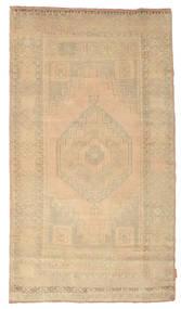 Colored Vintage Rug 114X202 Authentic  Modern Handknotted Beige/Dark Beige (Wool, Turkey)