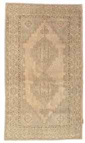 Colored Vintage Rug 115X200 Authentic  Modern Handknotted Light Brown/Dark Beige/Beige (Wool, Turkey)