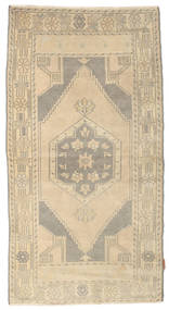 Colored Vintage Rug 100X190 Authentic  Modern Handknotted Beige/Light Grey (Wool, Turkey)