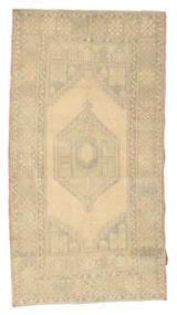 Colored Vintage Rug 104X195 Authentic  Modern Handknotted Beige/Dark Beige (Wool, Turkey)