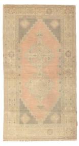 Colored Vintage Rug 114X212 Authentic  Modern Handknotted Beige/Dark Beige (Wool, Turkey)