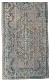 Colored Vintage Rug 156X256 Authentic  Modern Handknotted Dark Grey/Light Grey (Wool, Turkey)