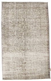 Colored Vintage Rug 112X187 Authentic  Modern Handknotted Light Grey (Wool, Turkey)