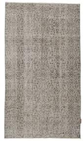 Colored Vintage Rug 110X195 Authentic  Modern Handknotted Light Grey/Dark Grey (Wool, Turkey)