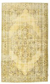 Colored Vintage Rug 158X268 Authentic  Modern Handknotted Beige/Dark Beige (Wool, Turkey)