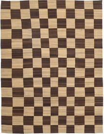 Kilim Modern Rug 302X400 Authentic  Modern Handwoven Dark Brown/Dark Beige Large (Wool, Afghanistan)