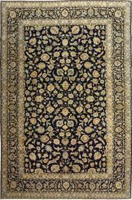 Keshan Patina Rug 255X385 Authentic  Oriental Handknotted Black/Light Brown Large (Wool, Persia/Iran)