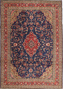Hamadan Patina Rug 212X302 Authentic  Oriental Handknotted Dark Red/Brown (Wool, Persia/Iran)