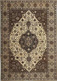 Tabriz Patina Rug 245X350 Authentic  Oriental Handknotted Dark Brown/Light Brown (Wool, Persia/Iran)