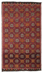 Kilim Semi Antique Turkish Rug 180X311 Authentic  Oriental Handwoven Dark Red/Dark Brown (Wool, Turkey)