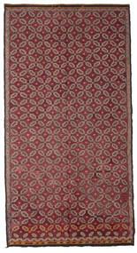 Kilim Semi Antique Turkish Rug 178X335 Authentic  Oriental Handwoven Dark Red/Pink (Wool, Turkey)