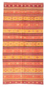 Kilim Semi Antique Turkish Rug 156X317 Authentic  Oriental Handwoven Orange/Rust Red (Wool, Turkey)