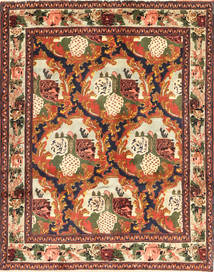 Senneh Rug 123X159 Authentic  Oriental Handknotted Dark Brown/Crimson Red (Wool, Persia/Iran)
