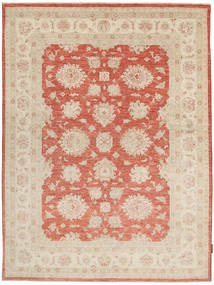 Ziegler Rug 154X203 Authentic  Oriental Handknotted Beige/Crimson Red (Wool, Pakistan)