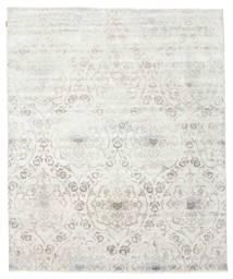 Himalaya Rug 242X293 Authentic  Modern Handknotted Light Grey/Beige (Wool/Bamboo Silk, India)