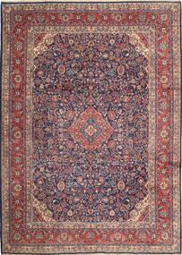 Hamadan Shahrbaf Rug 270X377 Authentic  Oriental Handknotted Black/Dark Brown Large (Wool, Persia/Iran)