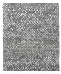 Himalaya Rug 239X288 Authentic  Modern Handknotted Dark Grey/Light Grey (Wool/Bamboo Silk, India)