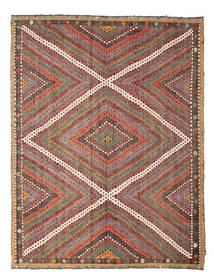 Kilim Semi Antique Turkish Rug 210X271 Authentic Oriental Handwoven Light Brown/Dark Red (Wool, Turkey)