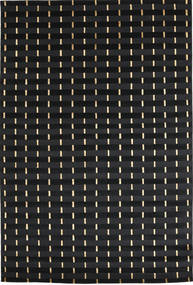 Himalaya Rug 168X247 Authentic  Modern Handknotted Black ( India)