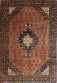 Ardebil Rug 195X289 Authentic  Oriental Handknotted Dark Brown/Dark Red (Wool, Persia/Iran)