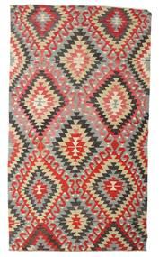 Kilim Semi Antique Turkish Rug 170X298 Authentic Oriental Handwoven Light Grey/Rust Red (Wool, Turkey)