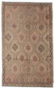 Kilim Semi Antique Turkish Rug 185X302 Authentic  Oriental Handwoven Brown/Light Grey (Wool, Turkey)