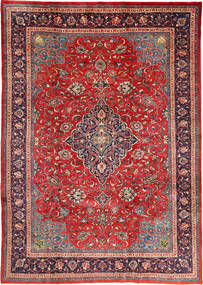 Mahal Rug 212X310 Authentic Oriental Handknotted Dark Red/Rust Red (Wool, Persia/Iran)