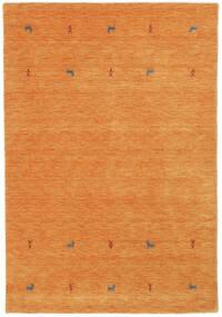 Gabbeh Loom Two Lines - Orange Rug 160X230 Modern Orange (Wool, India)