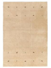 Gabbeh Loom Two Lines - Beige Rug 160X230 Modern Dark Beige/Light Brown/Yellow (Wool, India)